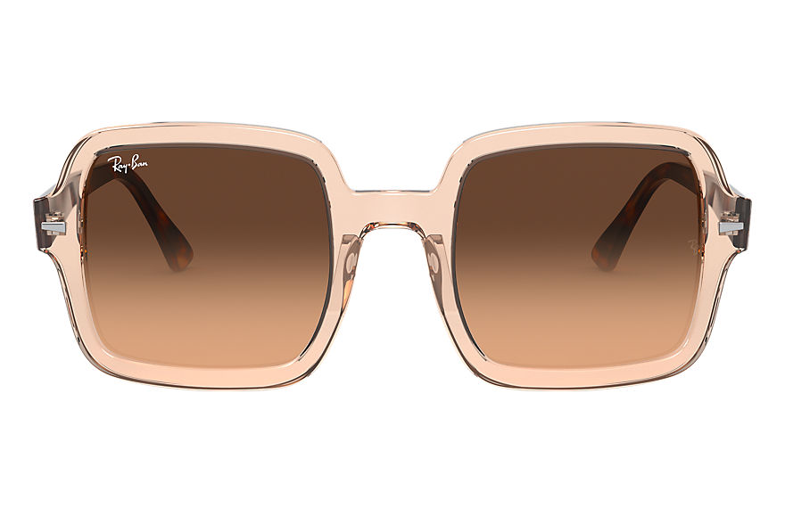 Ray-Ban  sunglasses RB2188 Female 004 rb2188 transparent brown 8056597216357