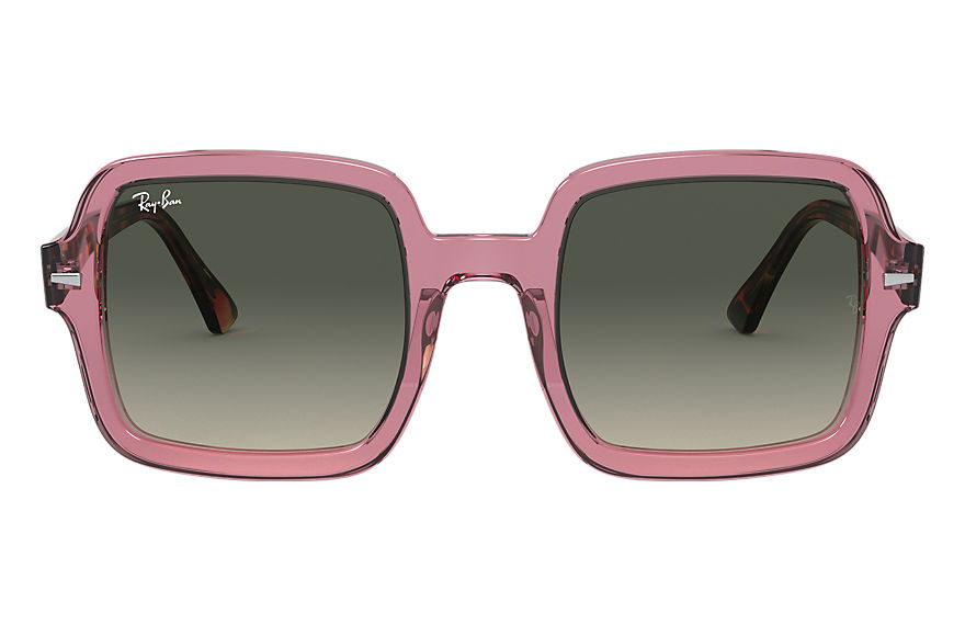 Ray-Ban  sunglasses RB2188 Female 002 rb2188 transparent violet 8056597216364