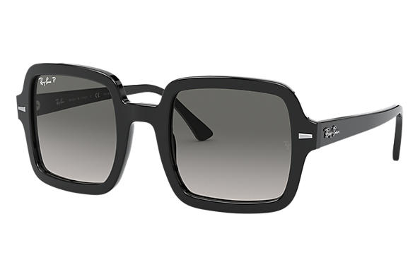 Ray-Ban Sunglasses RB2188 Black with Grey Gradient lens