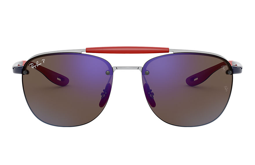 Ray-Ban  sunglasses RB3662M MALE 001 rb3662m scuderia ferrari collection silver 8056597216418