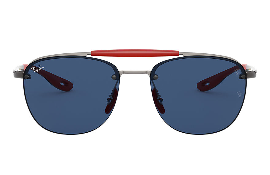 Ray-Ban  sonnenbrillen RB3662M MALE 001 rb3662m scuderia ferrari collection gunmetal 8056597216425