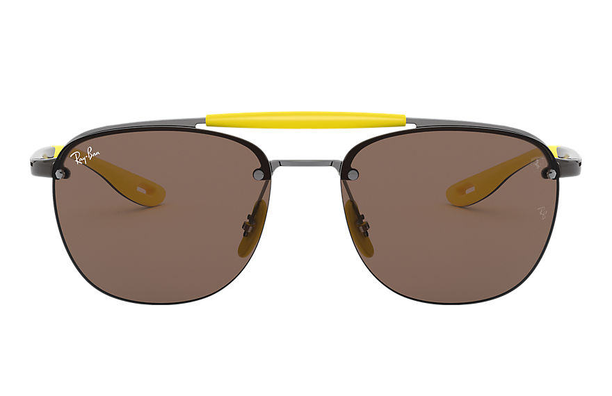 Ray-Ban  sunglasses RB3662M MALE 001 rb3662m scuderia ferrari collection gunmetal 8056597216432