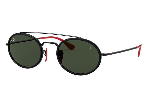 Ray-Ban		 0RB3847M-RB3847M SCUDERIA FERRARI COLLECTION Zwart SUN