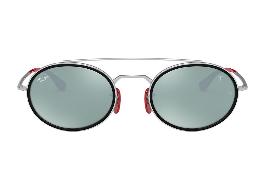 Ray-Ban  sunglasses RB3847M UNISEX 009 rb3847m scuderia ferrari collection silver 8056597216456