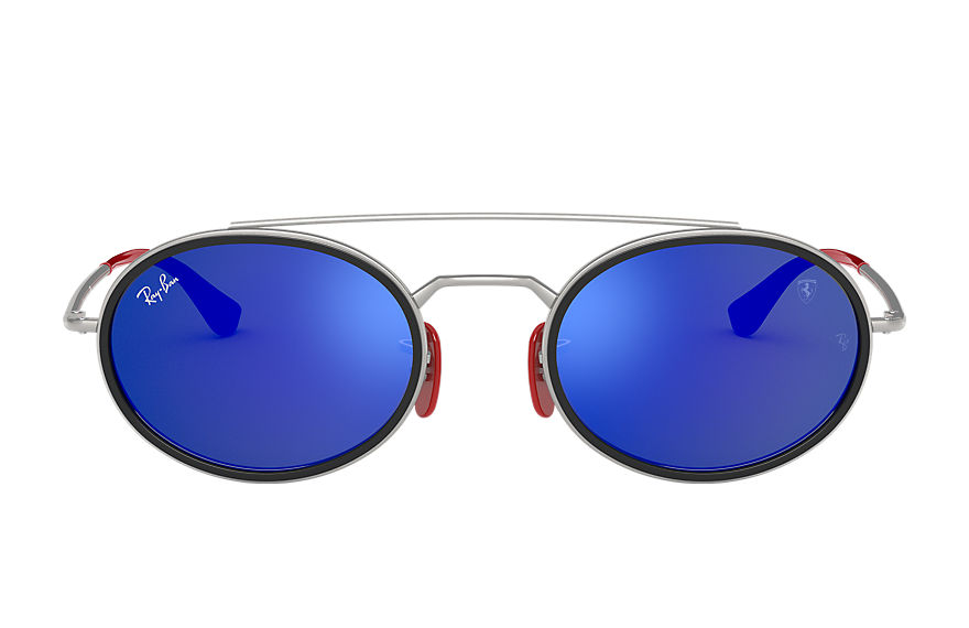 Ray-Ban  sonnenbrillen RB3847M UNISEX 007 rb3847m scuderia ferrari collection silver 8056597216470