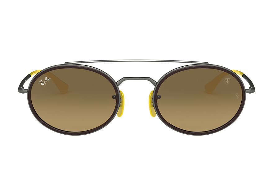 Ray-Ban  sunglasses RB3847M UNISEX 008 rb3847m scuderia ferrari collection gunmetal 8056597216487