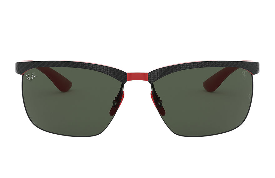 Ray-Ban  sunglasses RB8324M MALE 002 rb8324m scuderia ferrari collection zwart 8056597216821