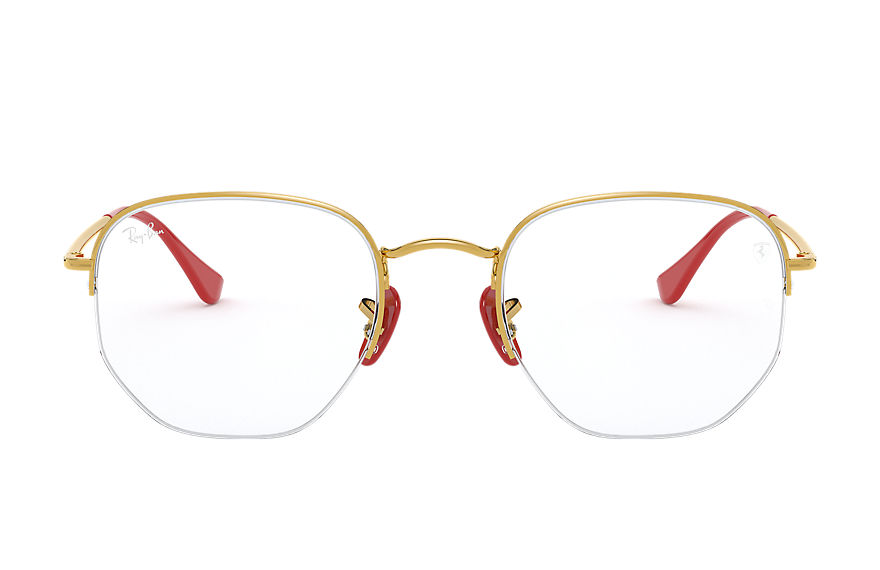 Ray-Ban  eyeglasses RX6448M UNISEX 010 rb6448m scuderia ferrari collection gold 8056597216869