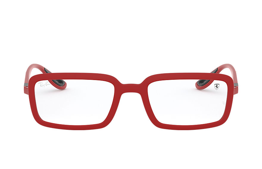 Ray-Ban Eyeglasses RB7181M SCUDERIA FERRARI COLLECTION Matte Red