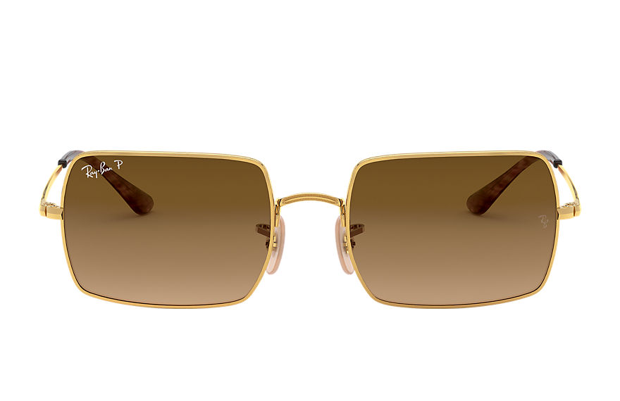 Ray-Ban  sunglasses RB1969 UNISEX 002 rectangle 1969 gold 8056597224918
