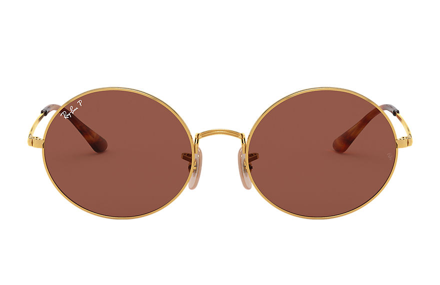Ray-Ban  sunglasses RB1970 UNISEX 011 oval 1970 gold 8056597224932