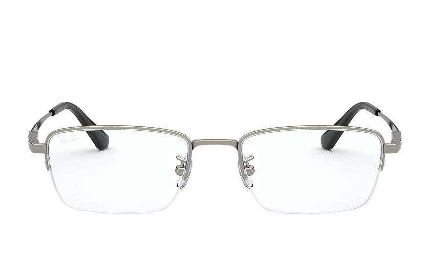 Ray-Ban  eyeglasses RX8763D UNISEX 001 rb8763d shiny pewter 8056597236980