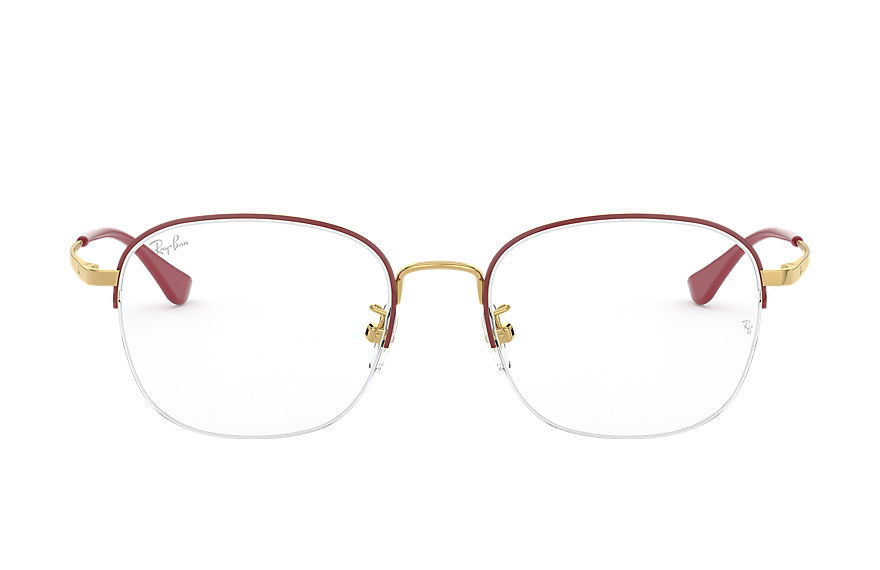 Ray-Ban  eyeglasses RX6458D UNISEX 001 rb6458d 酒紅色 8056597237093