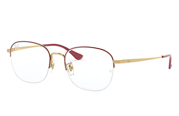 Ray-Ban Eyeglasses RB6458D Bordeaux