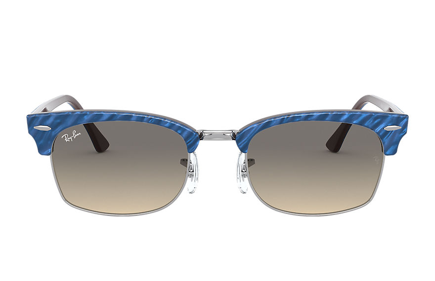 Ray-Ban  sunglasses RB3916 UNISEX 001 clubmaster square wrinkled blue 8056597242417