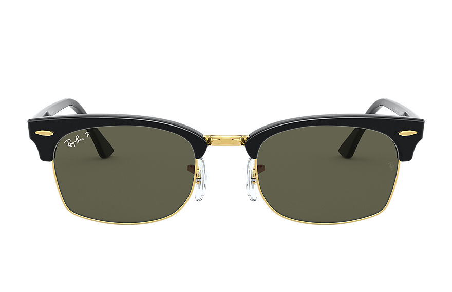 Ray-Ban  sunglasses RB3916 UNISEX 001 clubmaster square shiny black 8056597242431
