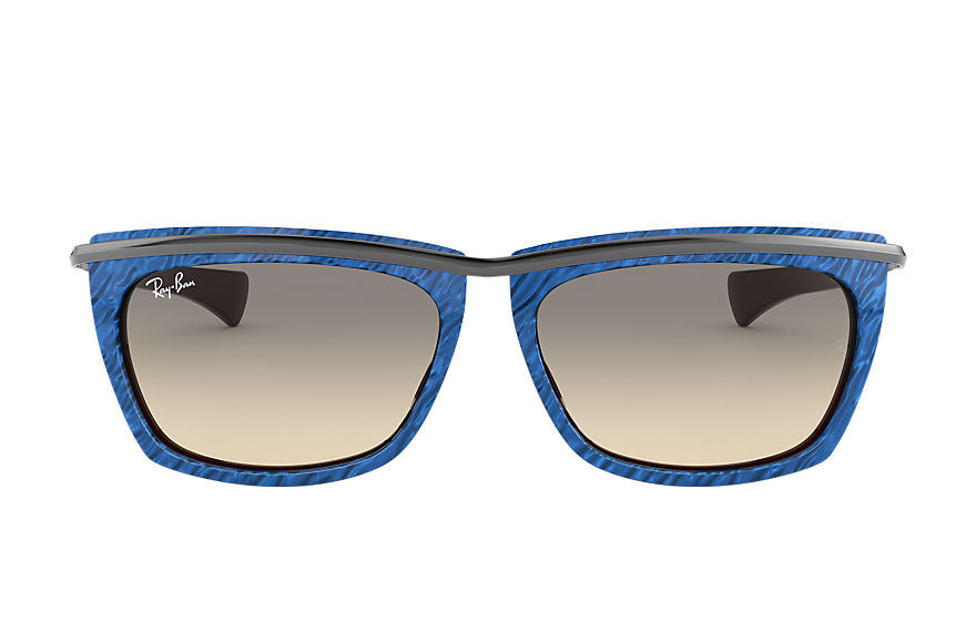 Ray-Ban  sunglasses RB2419 UNISEX 007 olympian ii wrinkled blue 8056597242585