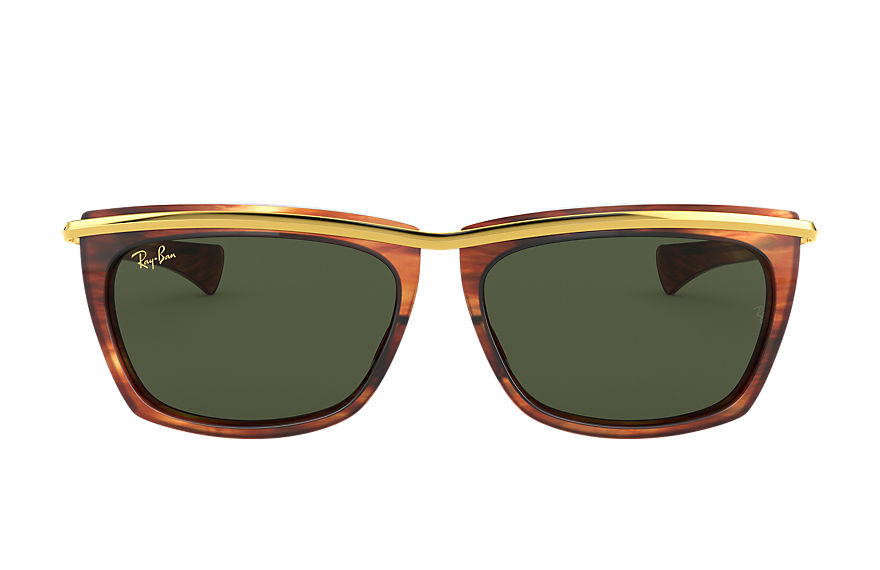 Ray-Ban  sunglasses RB2419 UNISEX 004 olympian ii striped tortoise 8056597242592