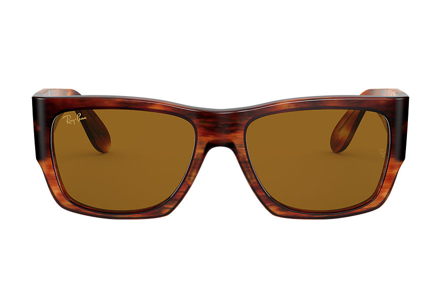 Ray-Ban  sunglasses RB2187 UNISEX 001 nomad legend gold striped havana 8056597242660