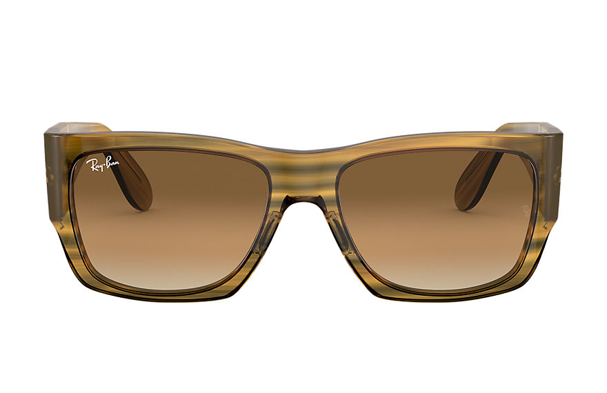 Ray-Ban  sunglasses RB2187 UNISEX 002 nomad striped yellow 8056597242684