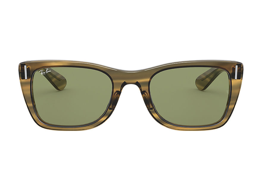 Ray-Ban  sunglasses RB2248 UNISEX 002 caribbean striped yellow 8056597242738