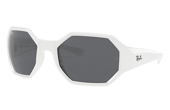 Ray-Ban Sunglasses RB4337 White with Grey Classic lens