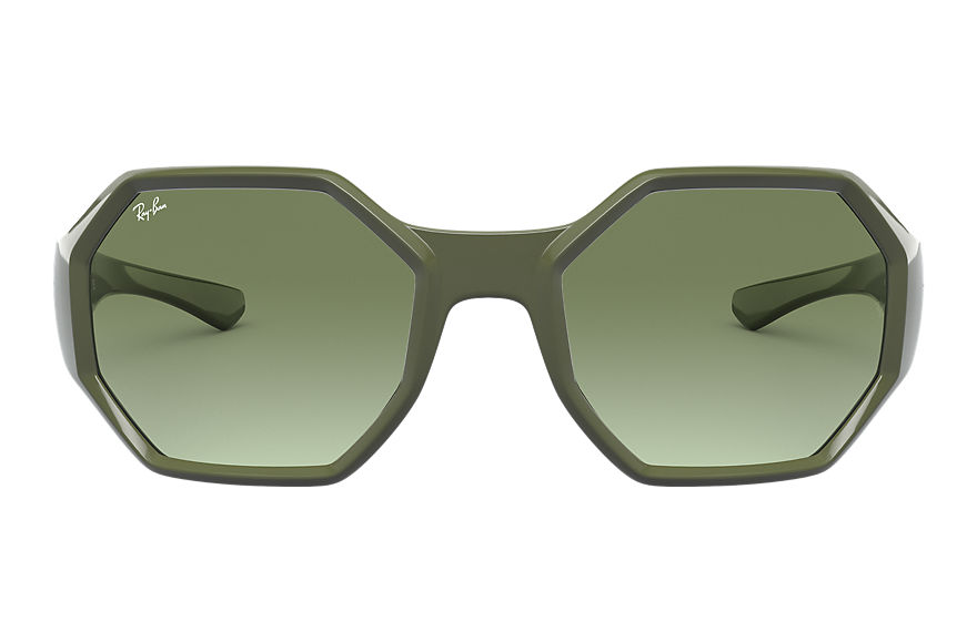 Ray-Ban  sunglasses RB4337 UNISEX 002 rb4337 military green 8056597242882