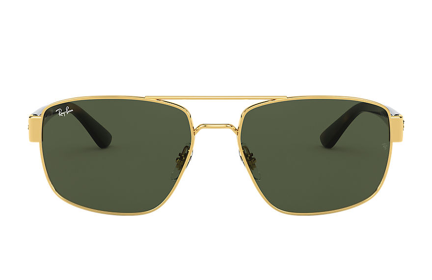 Ray-Ban  sunglasses RB3663 MALE 001 rb3663 shiny gold 8056597242905