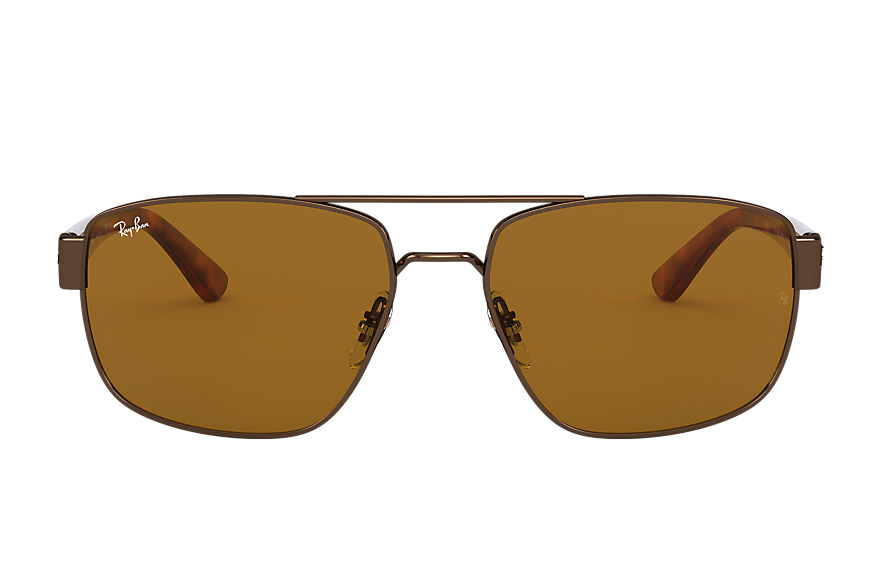 Ray-Ban  sunglasses RB3663 MALE 001 rb3663 brown 8056597242929