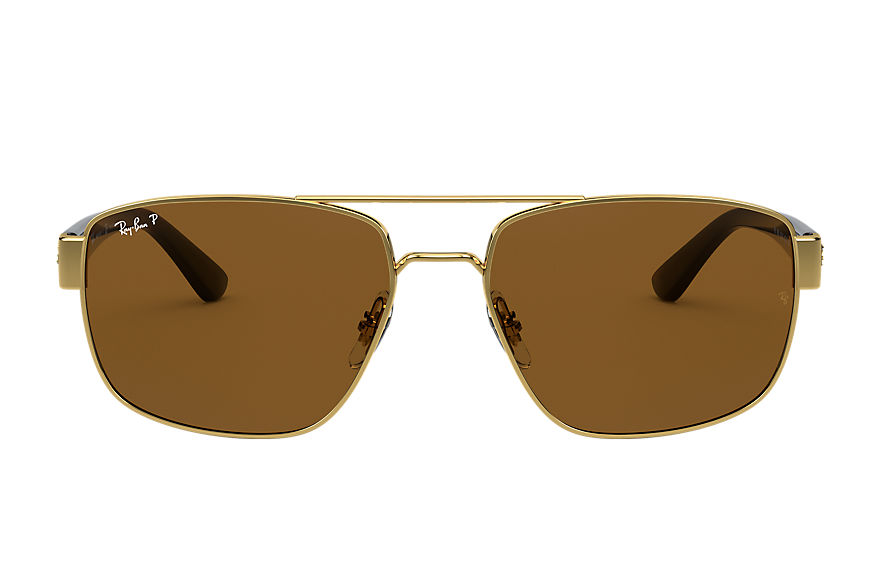Ray-Ban  sunglasses RB3663 MALE 002 rb3663 shiny gold 8056597242950