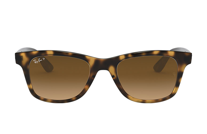 Ray-Ban Sunglasses RB4640 Shiny Havana with Brown Gradient lens