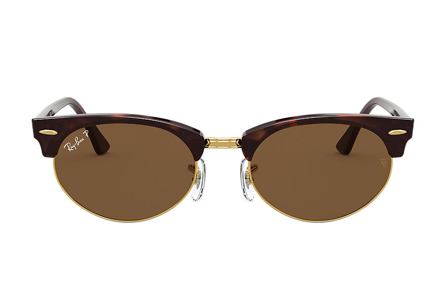 Ray-Ban  gafas de sol RB3946 UNISEX 002 clubmaster oval mock tortoise 8056597243490