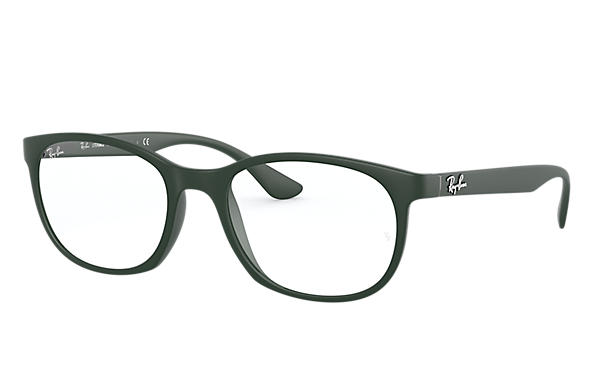 Ray-Ban 0RX7183-RB7183 Sand Green; Sand Green,Green OPTICAL