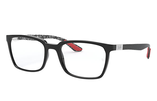 Ray-Ban 0RX8906-RB8906 Shiny Black,Black OPTICAL