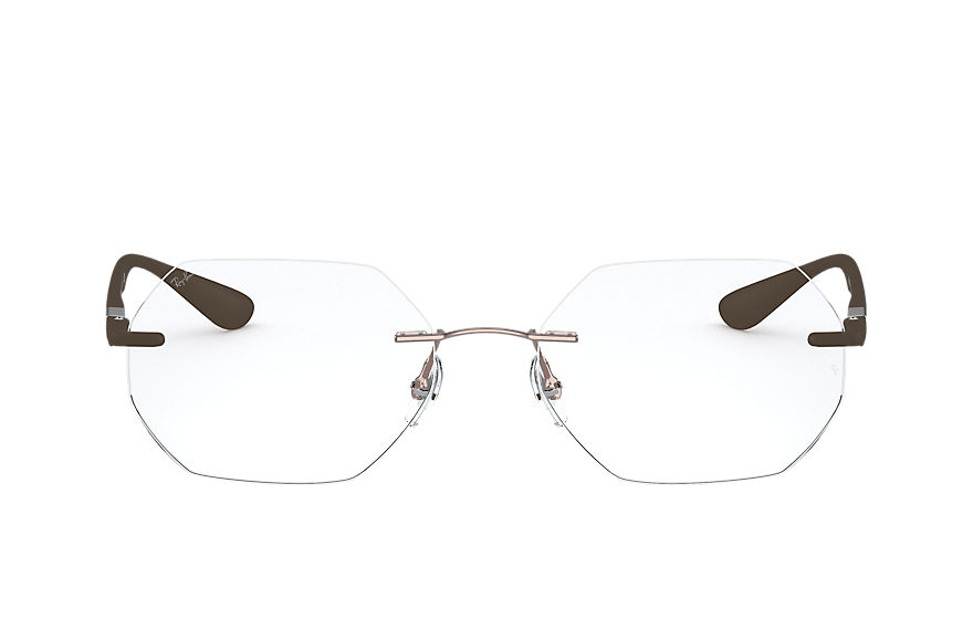 Ray-Ban Eyeglasses RB8765 Shiny Brown