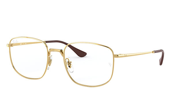 Ray-Ban 0RX6457-RB6457 Or brillant,Or; Or OPTICAL