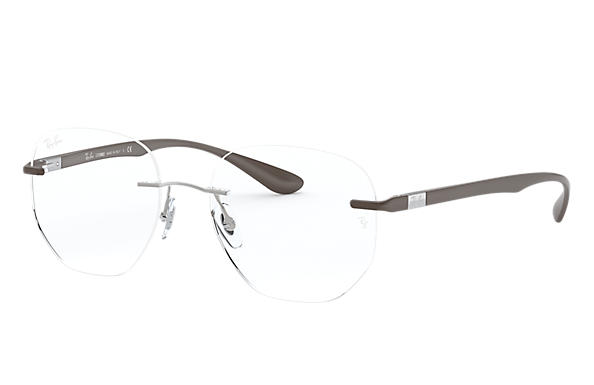 Ray-Ban Eyeglasses RB8766 Shiny Brown