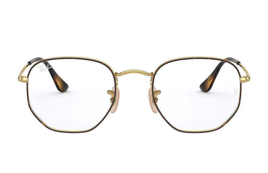 Ray-Ban		 Eyeglasses HEXAGONAL OPTICS Tortoise