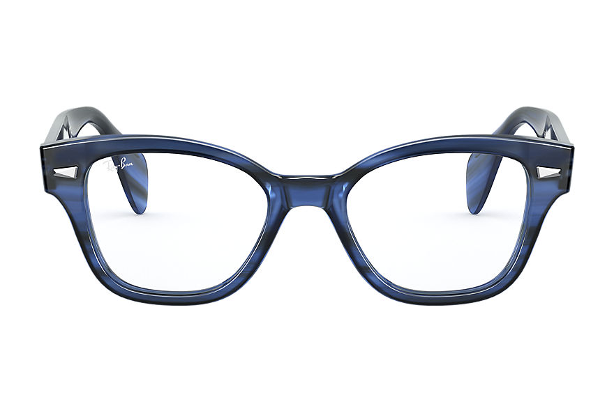 Ray-Ban  eyeglasses RX0880 UNISEX 001 880 striped blue 8056597245555