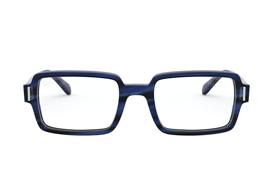 Ray-Ban  eyeglasses RX5473 FEMALE 003 benji optics striped blue 8056597245654