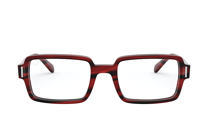 Ray-Ban  eyeglasses RX5473 FEMALE 004 benji optics striped red 8056597245661