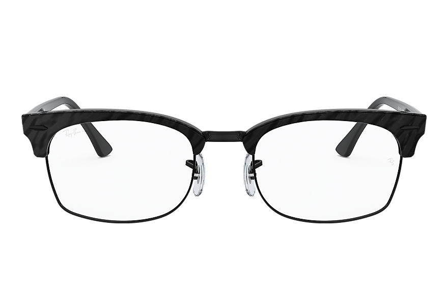 Ray-Ban  lunettes de vue RX3916V UNISEX 002 clubmaster square optics wrinkled black 8056597245753