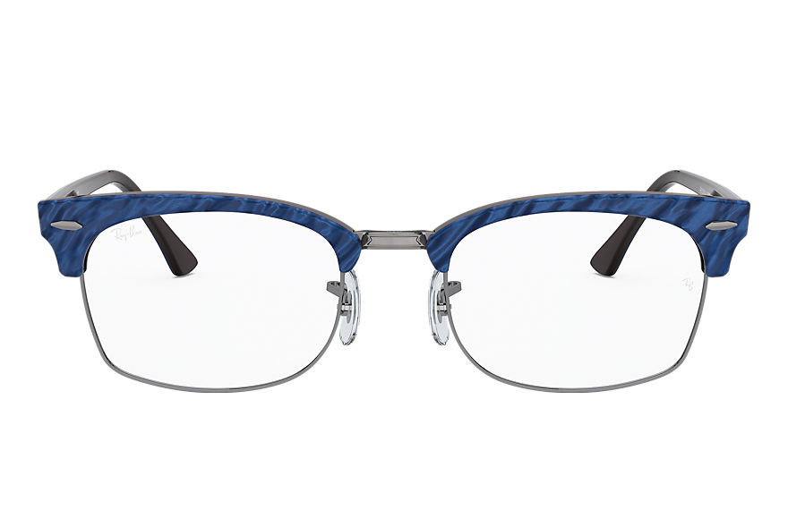 Ray-Ban  lunettes de vue RX3916V UNISEX 003 clubmaster square optics wrinkled blue 8056597245760