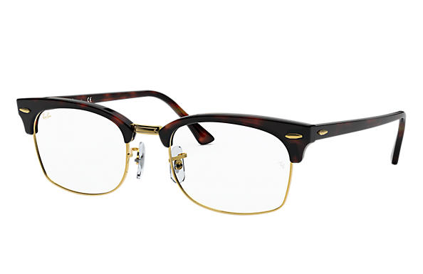 Ray-Ban 0RX3916V-CLUBMASTER SQUARE OPTICS Mock Tortoise OPTICAL