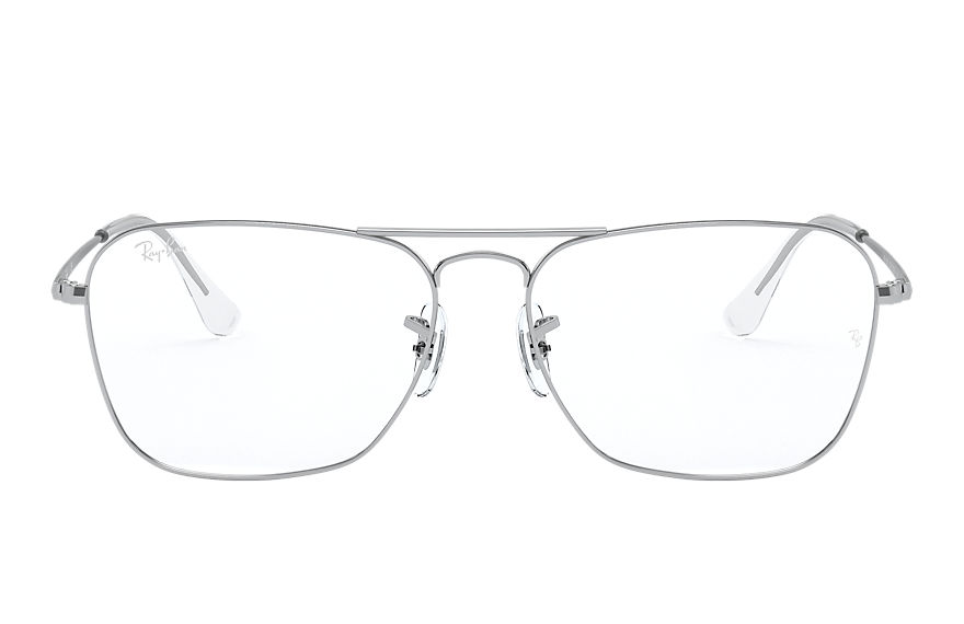Ray-Ban Eyeglasses CARAVAN OPTICS Shiny Silver