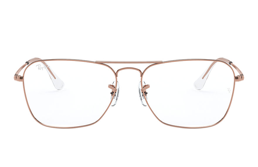 Ray-Ban  eyeglasses RX6536 UNISEX 005 caravan optics shiny rose gold 8056597246149