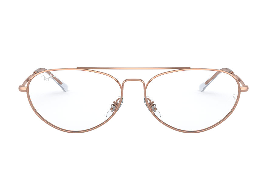 Ray-Ban  sehbrillen RX6454 UNISEX 001 rb6454 shiny rose gold 8056597246453