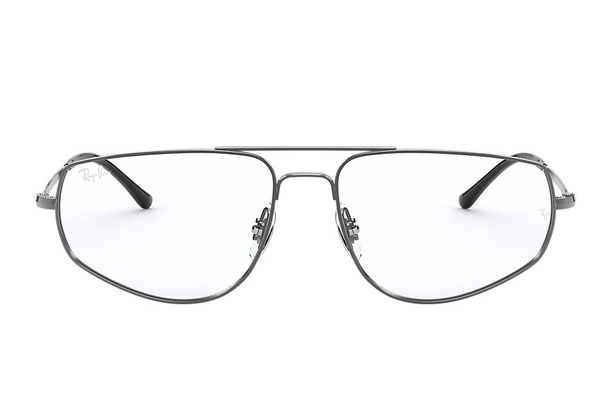 Ray-Ban  eyeglasses RX6455 UNISEX 002 rb6455 staalgrijs 8056597246507