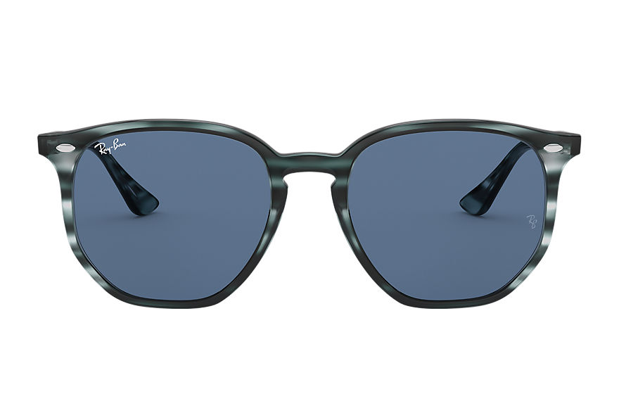 Ray-Ban  sunglasses RB4306 UNISEX 001 rb4306 striped blue havana 8056597260411