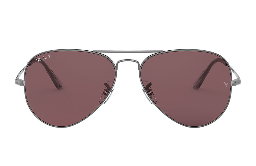 Ray-Ban  sunglasses RB3689 UNISEX 001 rb3689 metaliczny 8056597260572